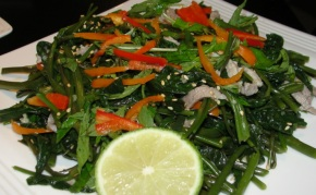 On-choy salad (nom rau muong)
